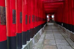 tori en un santuario en nagoya foto