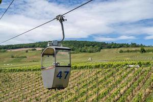 A cable car in Ruedesheim photo