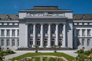 el palacio de koblenz en alemania foto
