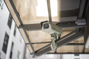 CCTV camera in apartment photo