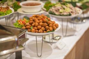 catering comida de boda foto