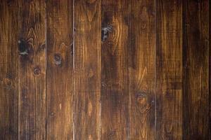 pared de madera marrón antigua foto