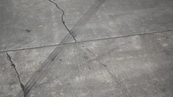 el detalle de la pista en el aeropuerto laxo. video