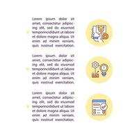 Social media communication concept line icons with text. PPT page vector template with copy space. Brochure, magazine, newsletter design element. Managment linear illustrations on white