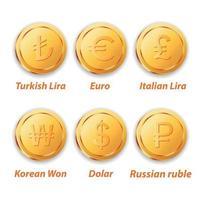 Money Gold Coin vector