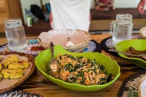 Healthy Asian Food in Indonesia photo