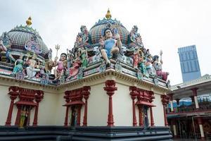 The Sri mariamman temple in Singapore photo