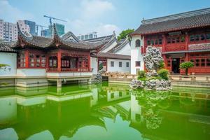 Wen Miao, Confucian Temple, in Shanghai, China photo