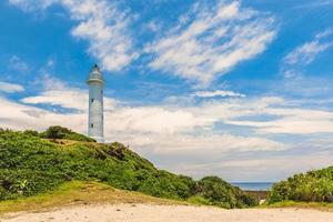Ludao lighthouse in Green Island, Taiwan photo