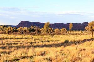 Kings Canyon at Sunset Northern Territory Australia photo
