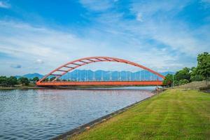 Dongshan River Water Park in Yilan, Taiwan photo