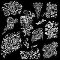 Floral Ornaments Design vector