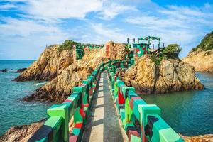 The Iron Fort at Nangan Island, Matsu, Taiwan. photo