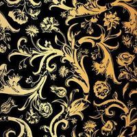 diseño de adornos florales vector