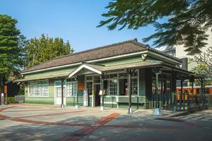 Estación de tren de Peimen Beimen en Chiayi, Taiwán foto