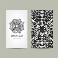plantilla de diseño de tarjeta vector