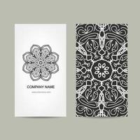 diseño de tarjeta único vector