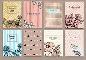 Card design template vector