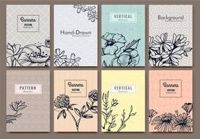 Floral Design set vector