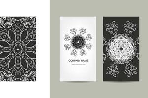 Unique Card Design vector