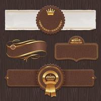 Set of Labels and Badges vector