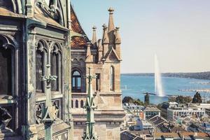 Geneva city in the daytime photo