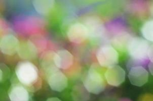 Colorful of romantic bokeh backgrounds for christmas theme concept photo