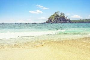 Crystal Bay en Nusa Penida, Indonesia foto