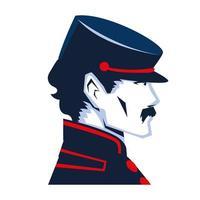 soldier civil war vector