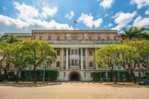 Fachada de la academia historica en Taipei, Taiwán. foto