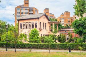 mansión yide, una antigua residencia en taichung, taiwán foto
