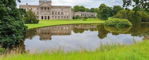 Lyme Hall historic English Stately Home and park in Cheshire, UK photo