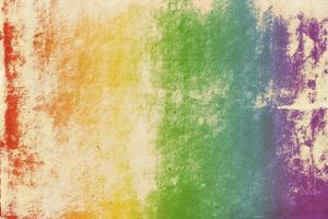 textura de papel viejo con degradado de arco iris foto