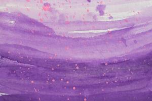 Abstract violet watercolor background photo
