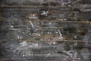 Old grunged wooden table, texture background photo