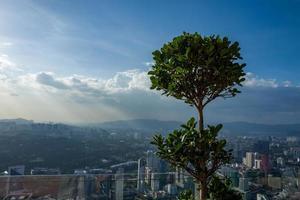 View on the Kuala Lumpur Skyline photo