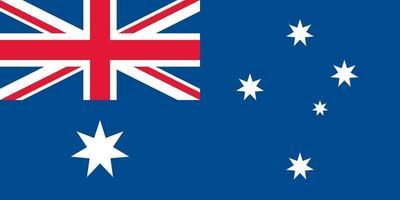 Australia officially flag vector