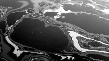 oil spill pollution background video footage 4k hd view