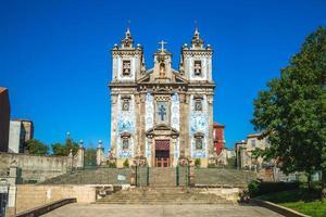 Iglesia de San Ildefonso en Porto, Portugal foto