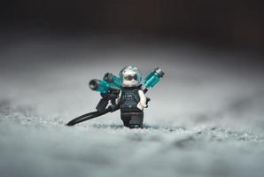 Warsaw 2020 - Lego super hero minifigure Mr. Freeze photo