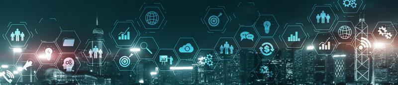 Business technology concept photo