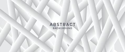 fondo blanco abstracto. Ilustración de vector de patrón blanco cruzado cruzado abstracto