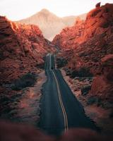 Valley of Fire in Nevada, USA photo