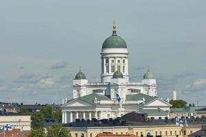 catedral de la diócesis en helsinki, finlandia foto