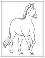 Horse Template Design vector
