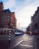 Amsterdam, Netherlands 2018- Public transportation in Amsterdam photo