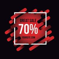 Black Friday Great Sale Background vector