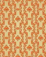 Floral seamless ornamental background Oriental artistic flourish retro texture. Abstract geometric pattern. Asian eastern fabric ornament vector