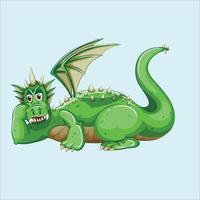 dinosaur cartoon character vector