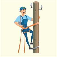 worker man character vector